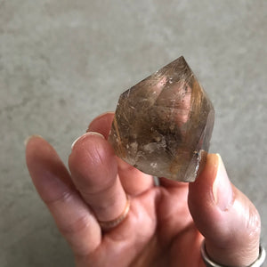 Rutilated Quartz Points