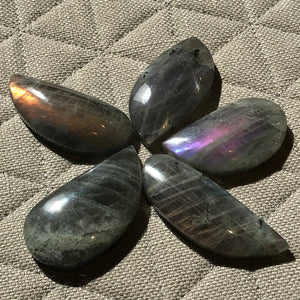 Shaped Purple Labradorite
