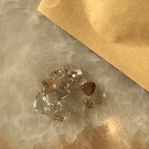 Rutile Quartz Chips Set