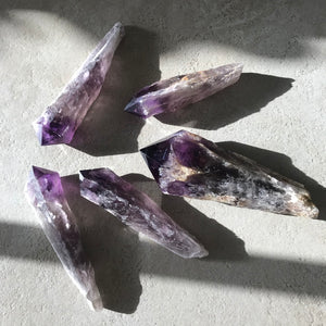 Long Stem Amethyst wand