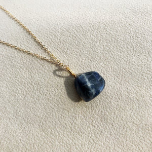 Crystal Tumbled Necklace