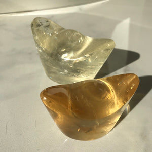 Honey Calcite Yuen Bao (Chinese gold)