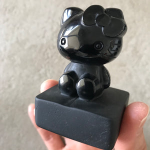 Obsidian Cartoon Carvings