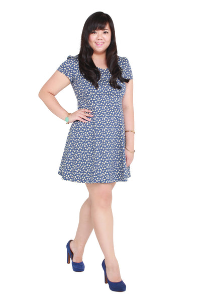 *Exclusive* Rosalie Skater Dress (Daisy), Dress - 1214 Alley