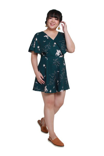 *Exclusive* Evan Romper (Forest Florals)