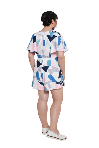 *Exclusive* Evan Romper (Triangle Blocks)