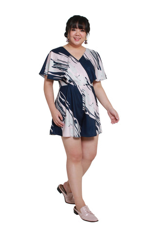 *Exclusive* Evan Romper (Ocean Waves), Dress, 1214 Alley