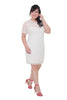 *Exclusive* Ruffles Crochet Lace Dress (White), Dress - 1214 Alley