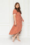 Dancing in the Moonlight Dress (Tomato), Dress - 1214 Alley