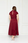 Artemis Midi Dress (Red), Dress - 1214 Alley