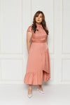 Artemis Midi Dress (Pink), Dress - 1214 Alley