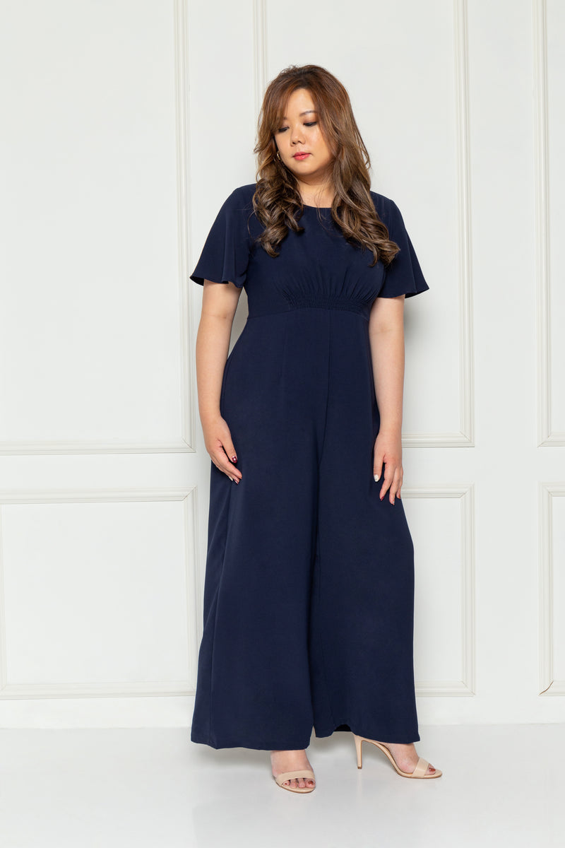 Florence Jumpsuit (Navy), One-Piece - 1214 Alley
