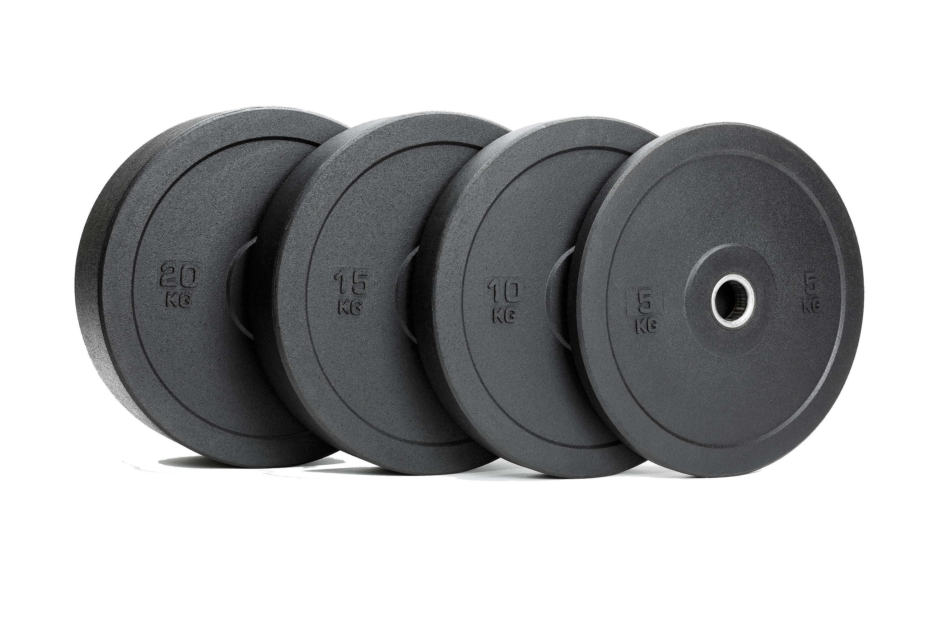 100kg Garage Bumper Plate Training Package