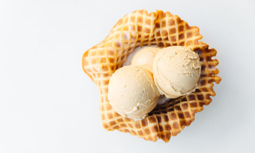 Smitten Salt Caramel Ice Cream