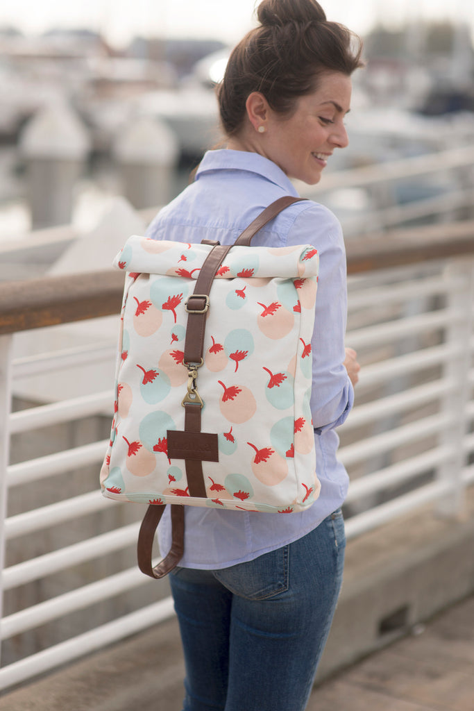 MAIKA roll-top backpack