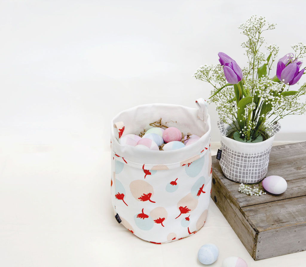 maika egg basket and bucket