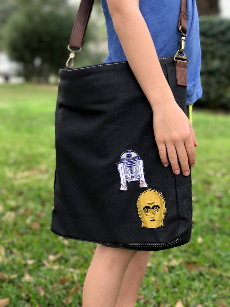 star wars customized crossbody bag