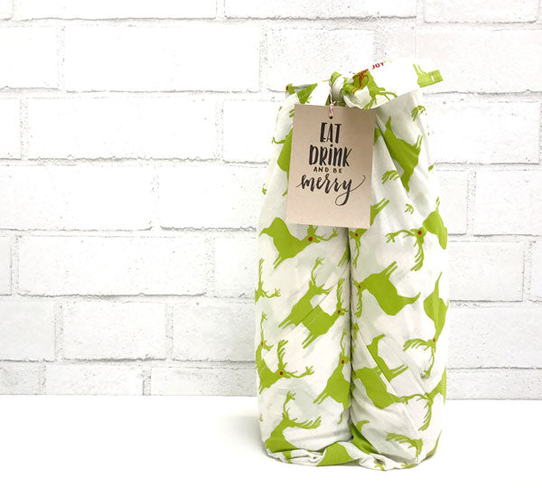 fabric gift wrap by chewing the cud