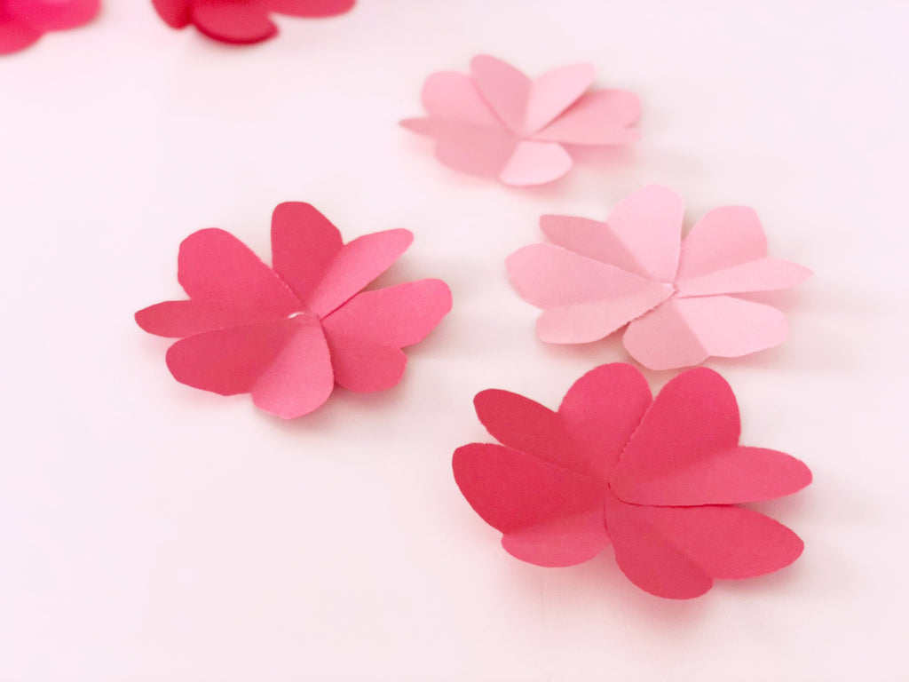 DIY Valentine Paper Flower Tutorial