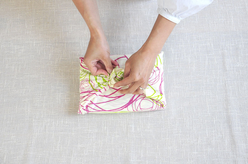 japanese fabric wrapping of books