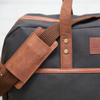 Duffel Bag - Waxed Black