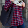 Carryall Tote - Waxed Black