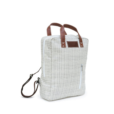 Laptop Backpack - Woven Grey