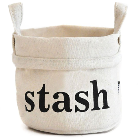 Stash Recycled Canvas Bucket