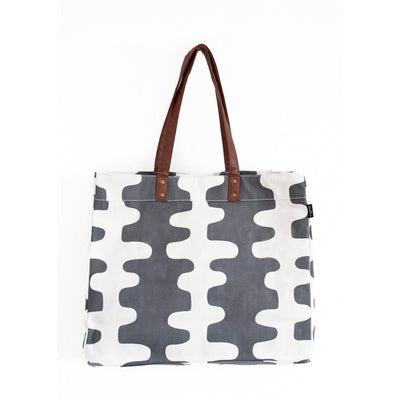 Carryall Tote - Charcoal Echo