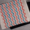 Chevron Linen Pouch/ipad Cover