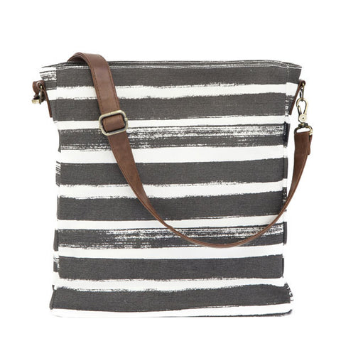 NEW! Stripes Charcoal City Sling
