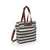 NEW! Commuter Tote - Stripes Charcoal
