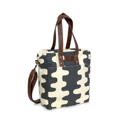 NEW! Commuter Tote - Echo Charcoal