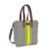 NEW! Commuter Tote - Mod Stripe Lime/ Ash