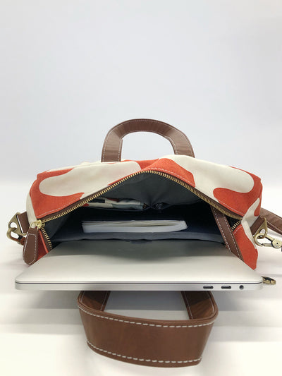 NEW! Commuter Tote - Waxed Ash
