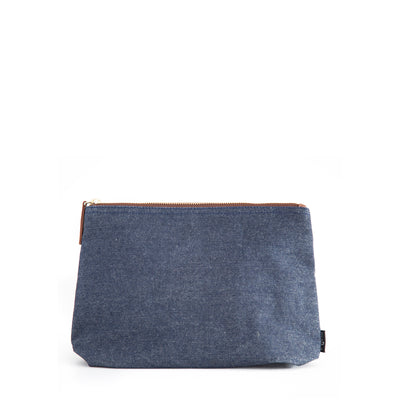 Small Lined Travel Pouch