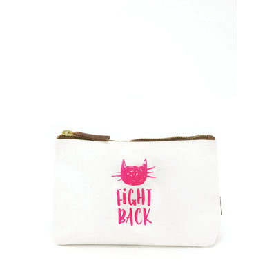 Typographic Travel Pouch