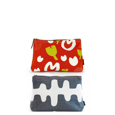 Set of 2: Large Pouches