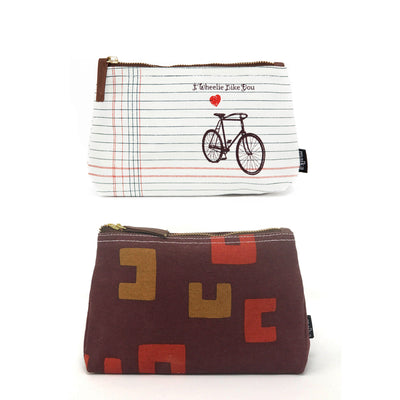 Set of 2: Medium Pouches