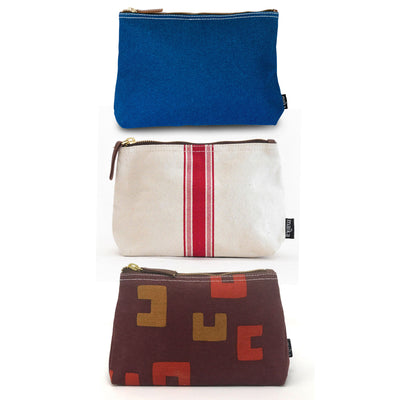 Set of 3: Large Pouches