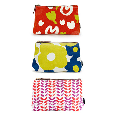 Bundle of 3 Pouches: Flower Power