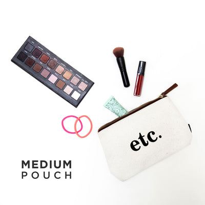 Bundle of 3 Pouches: Timeless Neutrals