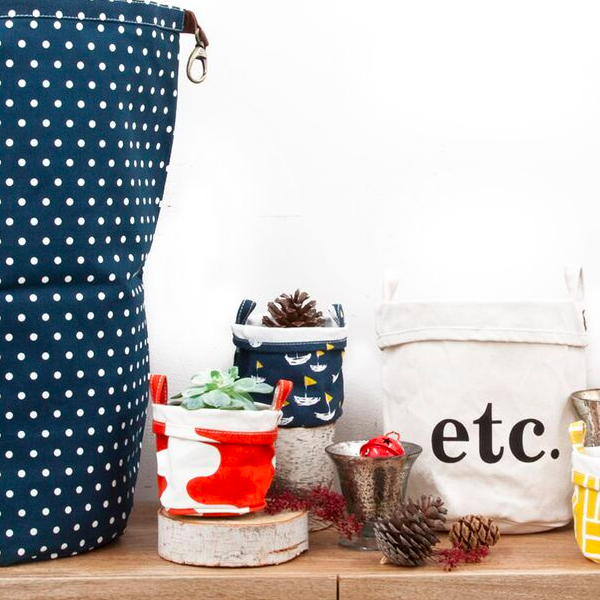 Etc. Recycled Canvas Bucket