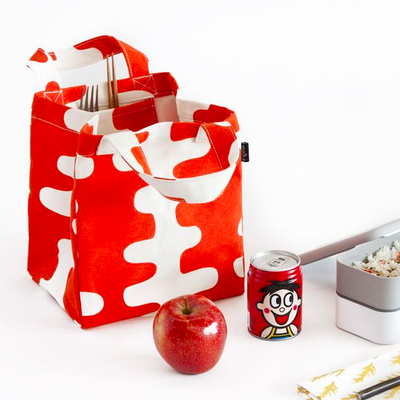 Lunch + Pie Tote - Echo Charcoal