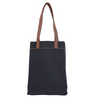 Market Tote - Waxed Black