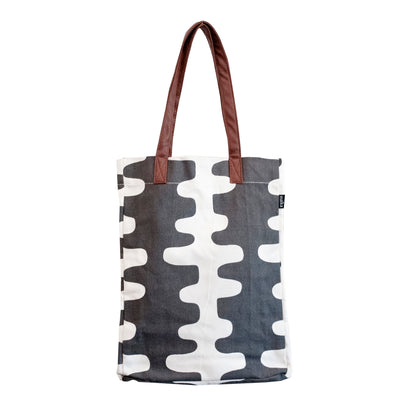 Market Tote Echo Charcoal