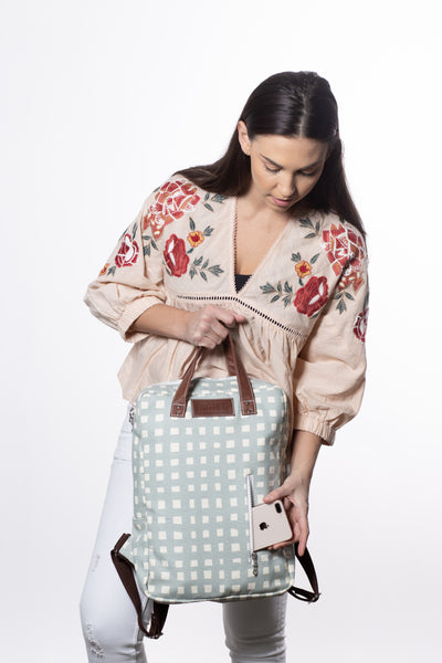 Laptop Backpack - Flores