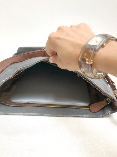 Crossbody Bag - Echo Charcoal