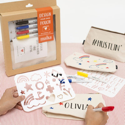Bundle Deals: Stencil-A-Pouch Kit