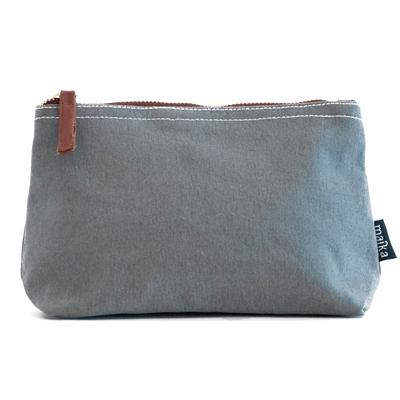 Travel Pouch - Waxed Ash